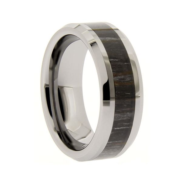 Tungsten 8Mm Camouflage Ring Seita Jewelers Tarentum, PA