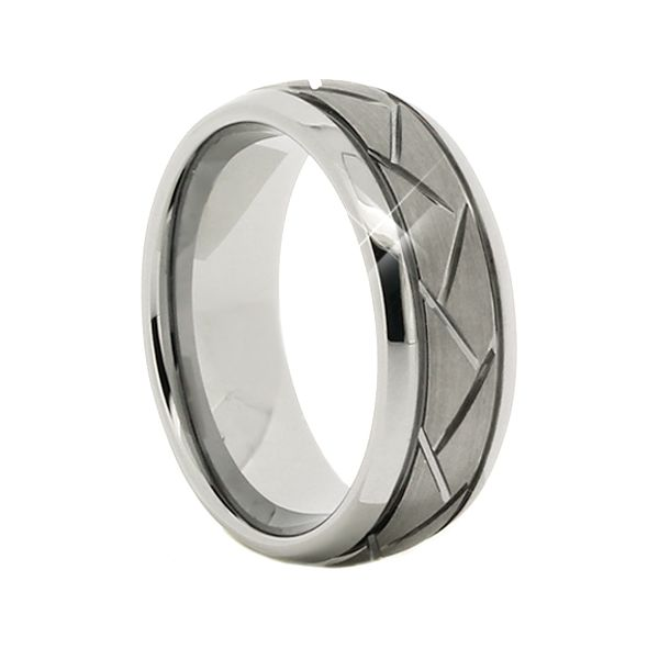 Tungsten 8mm Ring Seita Jewelers Tarentum, PA