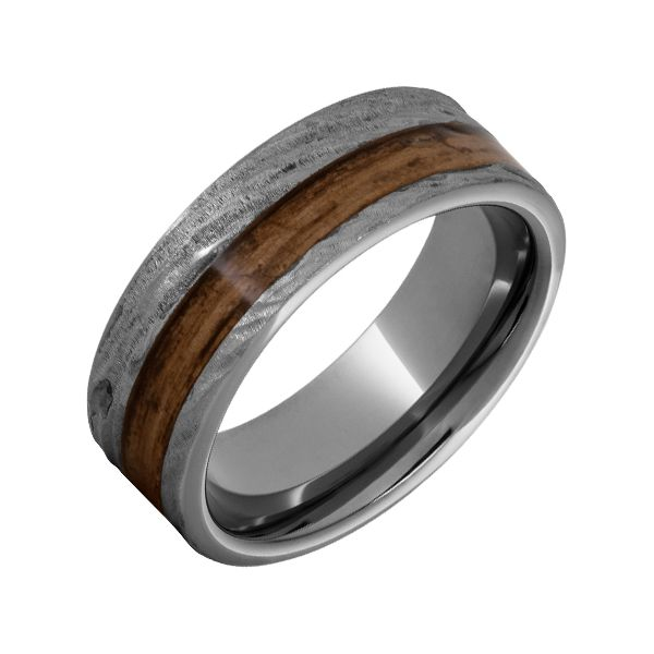 Rugged Tungsten™8mm Flat Men's Wedding Band Seita Jewelers Tarentum, PA