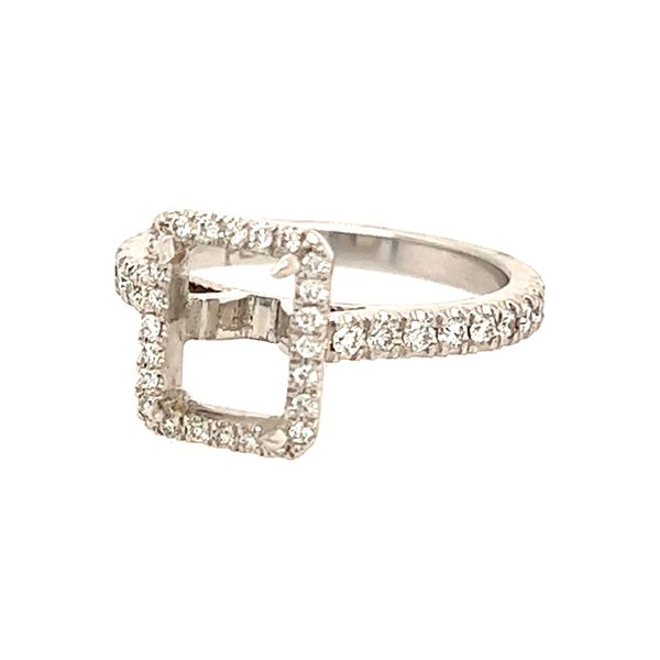 Radiant Cut Diamond Engagement Ring Simones Jewelry, LLC Shrewsbury, NJ