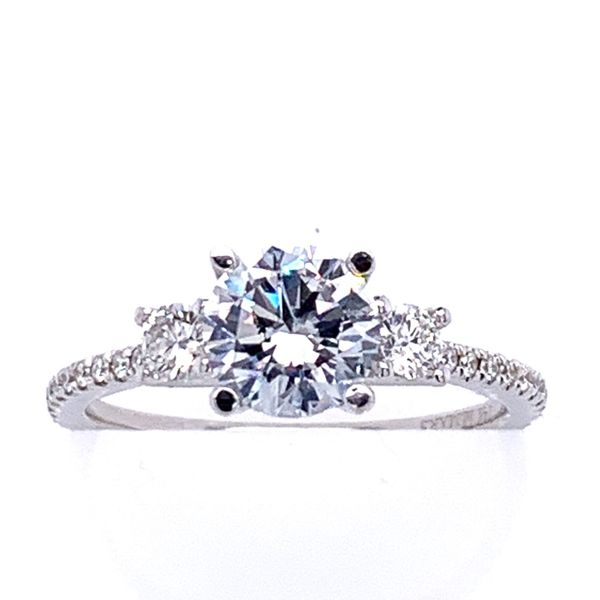 Diamond Semi Mounting Simones Jewelry, LLC Shrewsbury, NJ