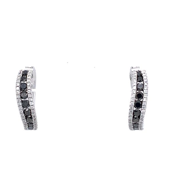 Black &  White Diamond Earrings Simones Jewelry, LLC Shrewsbury, NJ