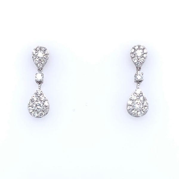Diamond Drop Earrings Simones Jewelry, LLC Shrewsbury, NJ