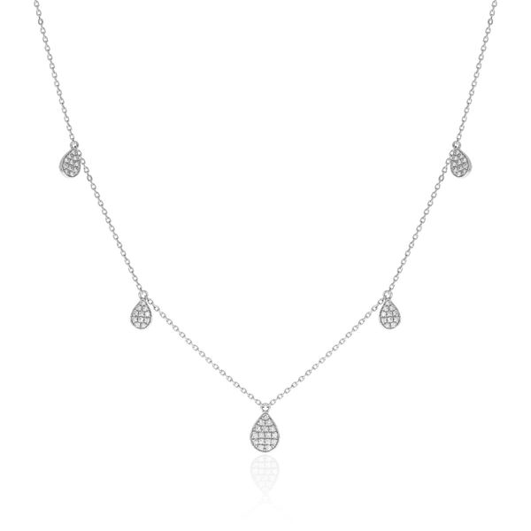 Diamond Drop Necklace Simones Jewelry, LLC Shrewsbury, NJ