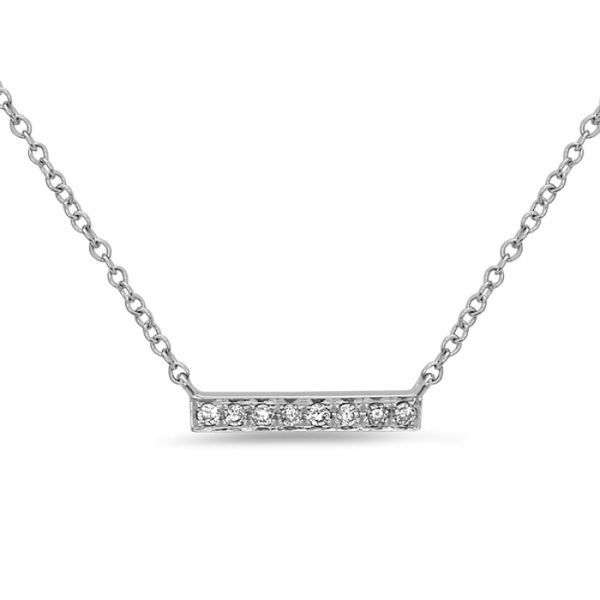 Diamond Bar Necklace Simone's Jewelry, LLC ,