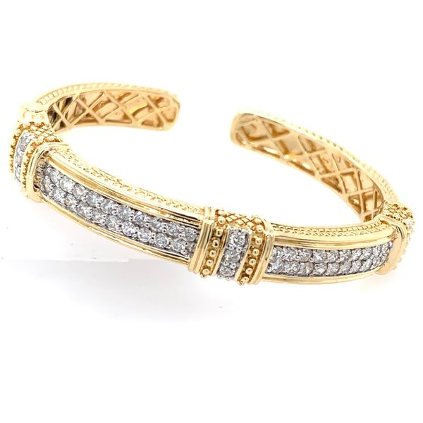 Diamond Cuff Simones Jewelry, LLC Shrewsbury, NJ