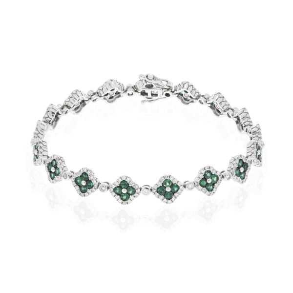 Diamond & Emerald Bracelet Simones Jewelry, LLC Shrewsbury, NJ