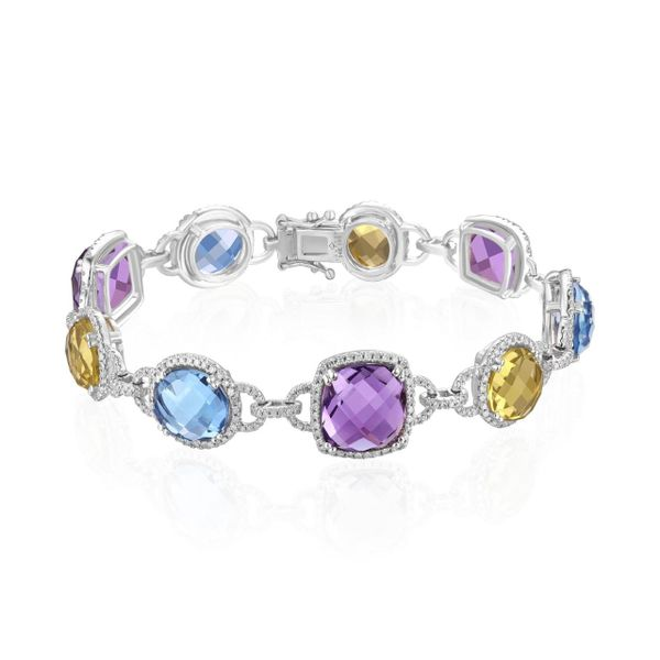 Diamond Multi Stone Bracelet Simones Jewelry, LLC Shrewsbury, NJ