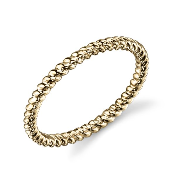 Gold Stackable Band Simones Jewelry, LLC Shrewsbury, NJ