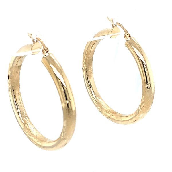 Hoop Earrings Simones Jewelry, LLC Shrewsbury, NJ