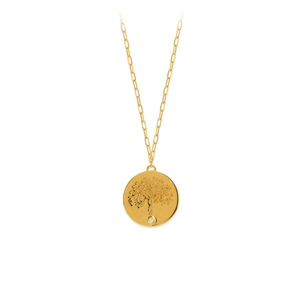 Gold Tree of Life Necklace Simones Jewelry, LLC Shrewsbury, NJ