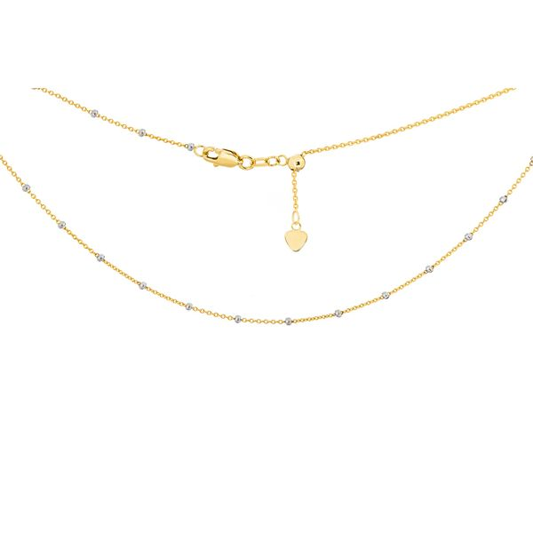 Gold Bead Chain Simones Jewelry, LLC Shrewsbury, NJ