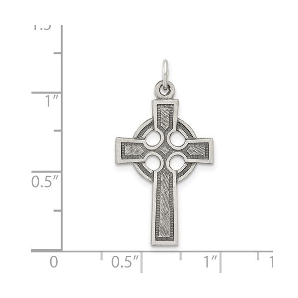 Sterling Silver Celtic Cross Image 3 Simones Jewelry, LLC Shrewsbury, NJ