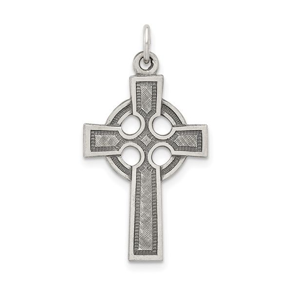 Sterling Silver Celtic Cross Simones Jewelry, LLC Shrewsbury, NJ