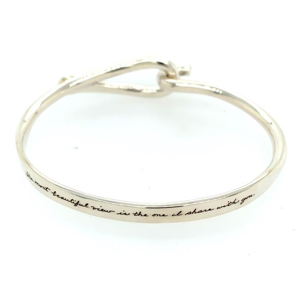 Sterling Silver Bangle Simones Jewelry, LLC Shrewsbury, NJ