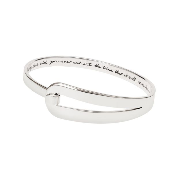 Sterling Silver Dear Daughter Bangle Simones Jewelry, LLC Shrewsbury, NJ