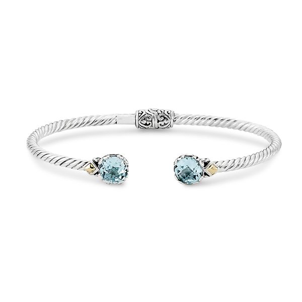 Sterling Silver Blue Topaz Bangle Simone's Jewelry, LLC ,
