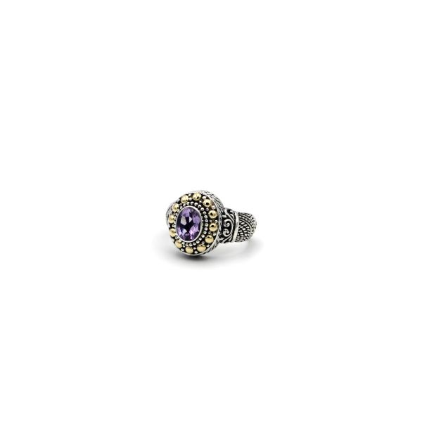Sterling Silver Amethyst Ring Simone's Jewelry, LLC ,