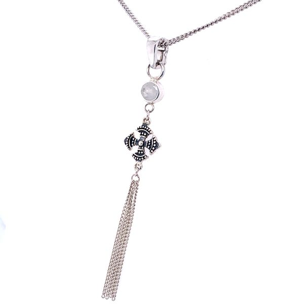 Sterling Silver Tassel Pendant Image 2 Simone's Jewelry, LLC ,