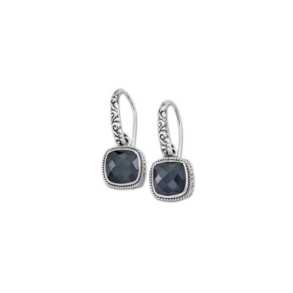 Sterling Silver Onyx Earrings Simone's Jewelry, LLC ,