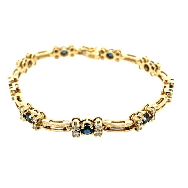 Sapphire & Diamond Bracelet Simones Jewelry, LLC Shrewsbury, NJ
