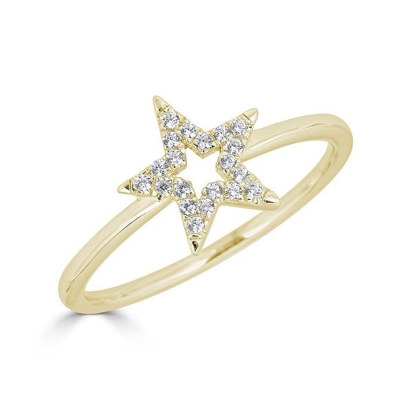 Metrica Star Outline Ring S. Lennon & Co Jewelers New Hartford, NY