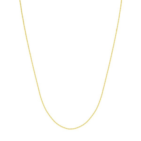 BOX CHAIN 040 0.55 MM LOBSTER 14KT YGOLD 16