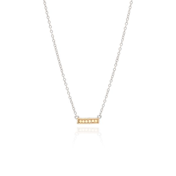 Anna Beck Classic Small Bar Necklace - Reversible S. Lennon & Co Jewelers New Hartford, NY