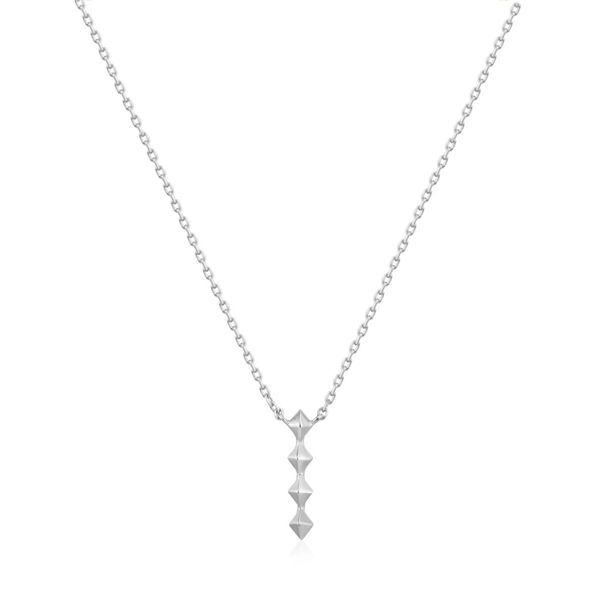 Ania Haie Silver Spike Drop Necklace S. Lennon & Co Jewelers New Hartford, NY