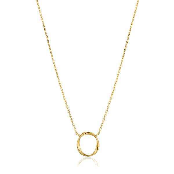 Ania Haie Gold Swirl Necklace S. Lennon & Co Jewelers New Hartford, NY