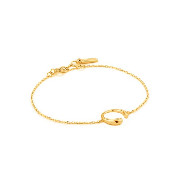 Ania Haie Luxe Curve Bracelet S. Lennon & Co Jewelers New Hartford, NY