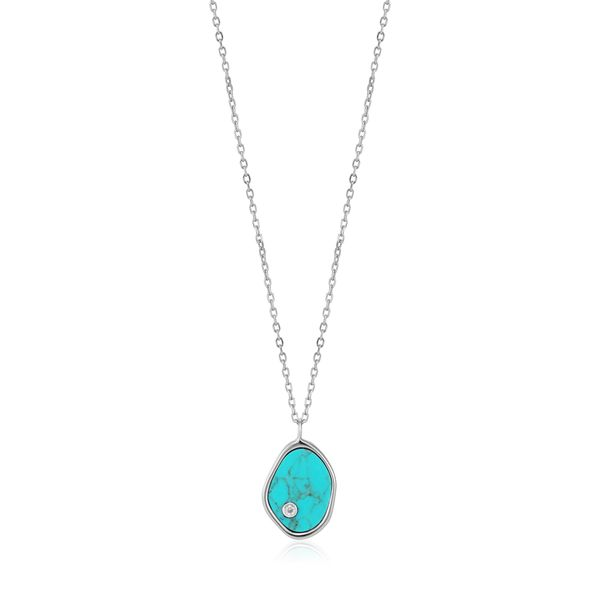 Ania Haie Silver Tidal Turquoise Necklace S. Lennon & Co Jewelers New Hartford, NY