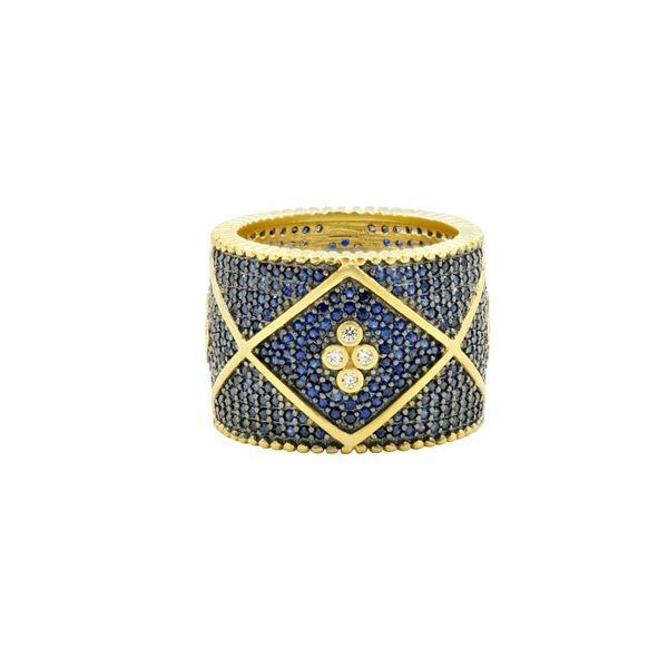 Freida Rothman Signature Pave Cigar Band S. Lennon & Co Jewelers New Hartford, NY