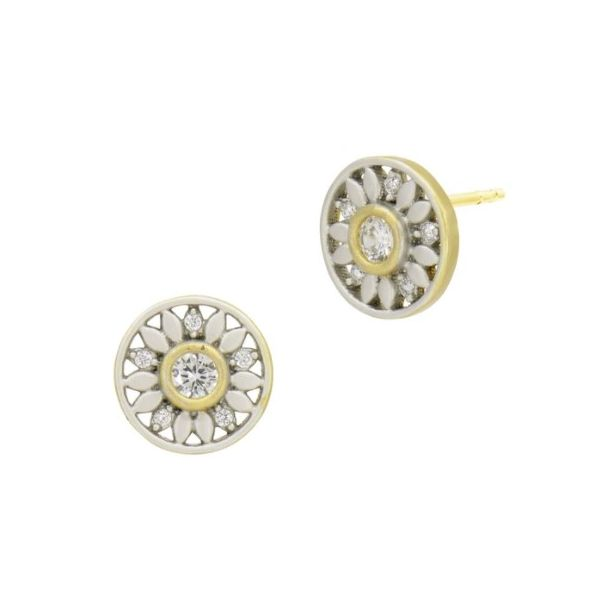 FREIDA ROTHMAN HOPE COLLECTION - PETALS IN BLOOM STUD EARRINGS S. Lennon & Co Jewelers New Hartford, NY