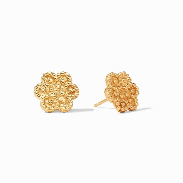 Julie Vos Colette Stud Gold S. Lennon & Co Jewelers New Hartford, NY