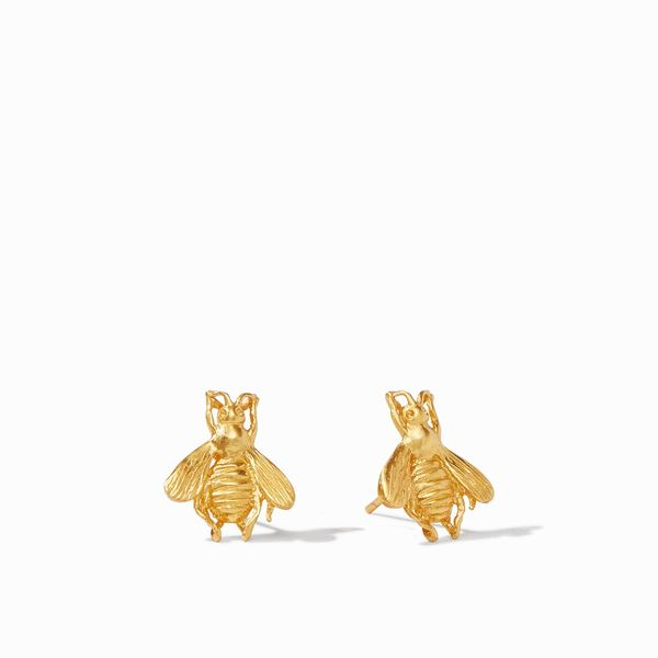 Julie Vos Bee Stud Gold S. Lennon & Co Jewelers New Hartford, NY