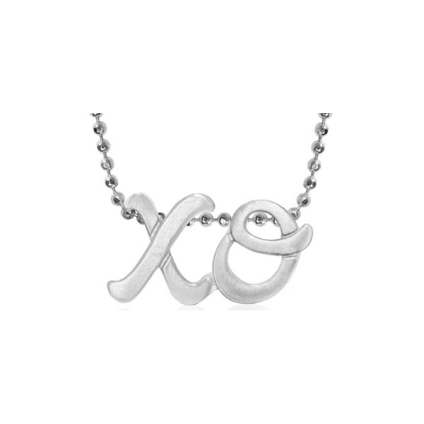ALEX WOO - LITTLE AUTOGRAPH LETTERS XO NECKLACE S. Lennon & Co Jewelers New Hartford, NY