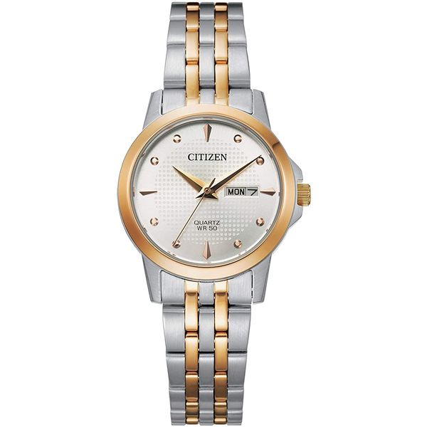 Citizen Women's Two Tone Stainless Steel Watch Smith Jewelers Franklin, VA