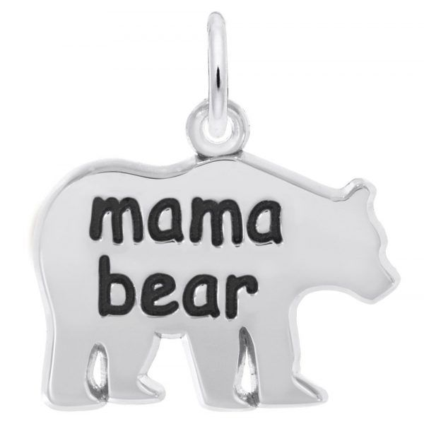 Sterling Silver Mama Bear Charm Smith Jewelers Franklin, VA
