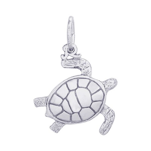 Sterling Silver Sea Turtle Charm Smith Jewelers Franklin, VA