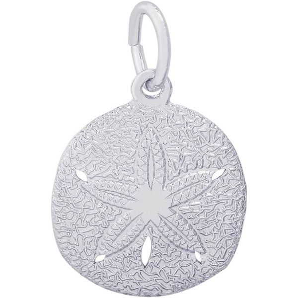 Sterling Silver Sand Dollar Charm Smith Jewelers Franklin, VA