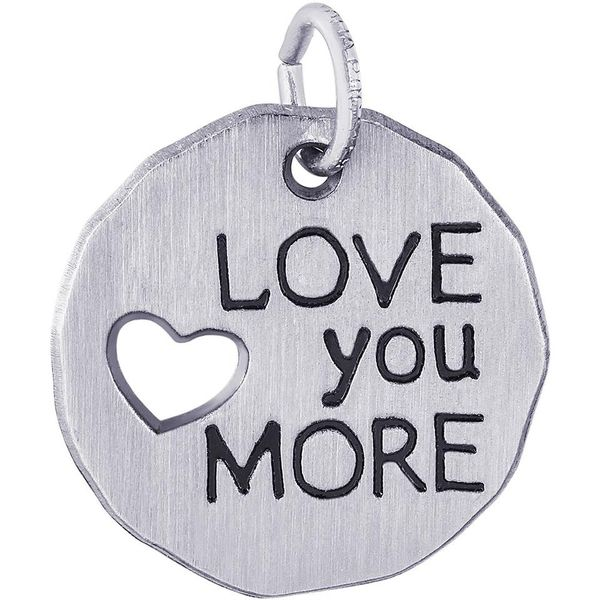 Love You More Tag Charm Smith Jewelers Franklin, VA
