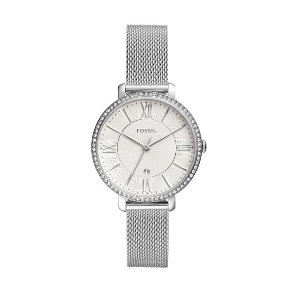 Jacqueline Three-Hand Date Stainless Steel Watch Spicer Cole Fine Jewellers and Spicer Fine Jewellers Fredericton, NB