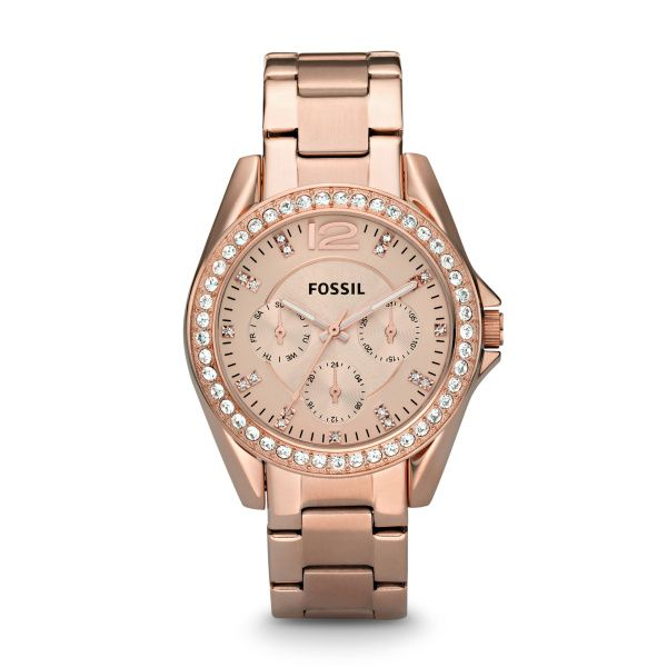 Riley Multifunction Rose-Tone Stainless Steel Watch Spicer Cole Fine Jewellers and Spicer Fine Jewellers Fredericton, NB