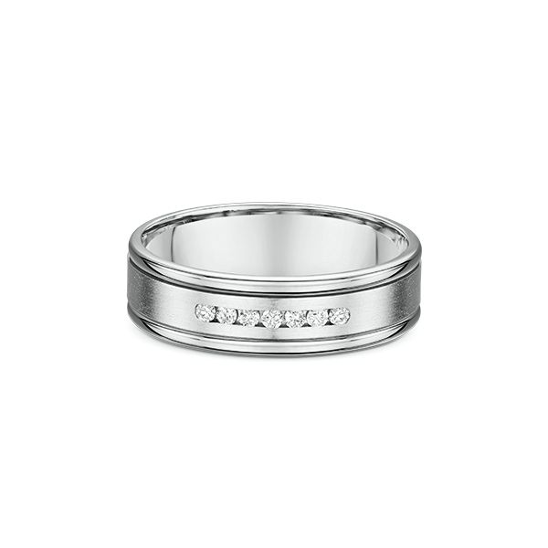 Men's Diamond Wedding Band Image 2 Stambaugh Jewelers Defiance, OH