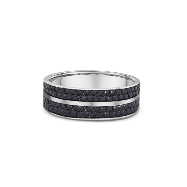 Men's Black Diamond Wedding Band Stambaugh Jewelers Defiance, OH