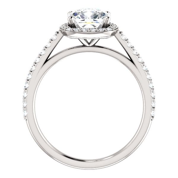 Halo Engagement Mounting Image 2 Stambaugh Jewelers Defiance, OH