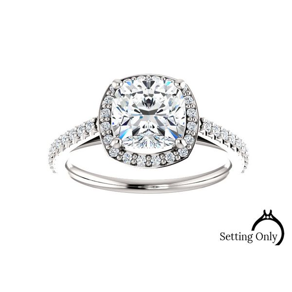 Halo Engagement Mounting Stambaugh Jewelers Defiance, OH
