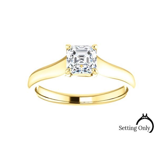 Solitaire Engagement Mounting Stambaugh Jewelers Defiance, OH