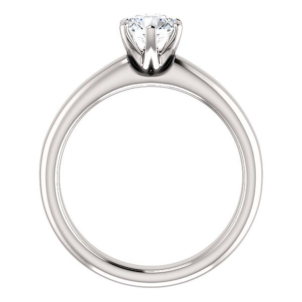 Solitaire Engagement Mounting Image 2 Stambaugh Jewelers Defiance, OH